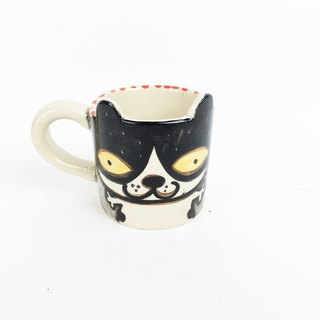 Nice Little Clay Espresso Coffee Cat 0133-14