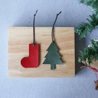 Christmas shape bookmark (a charm gift card key ring)