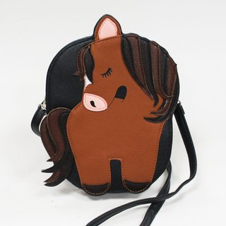 Chestnut Horse Crossbody Bag