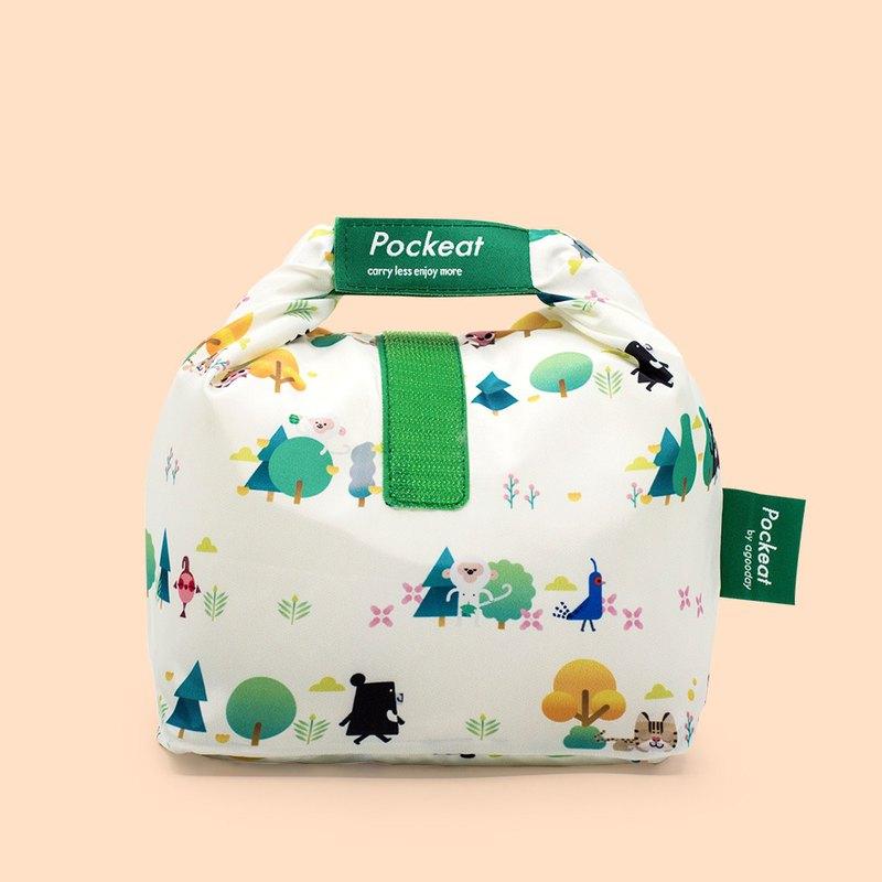 好日子 | Pockeat環保食物袋(小食袋)-黑啤有樹嗎