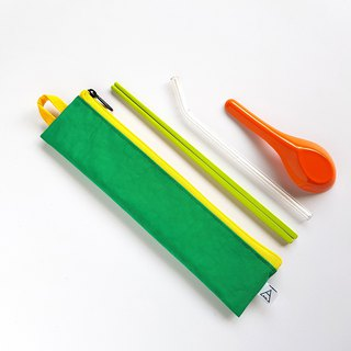 Eat more fruits and vegetables, good health / environmental protection tableware bag / sour lemon