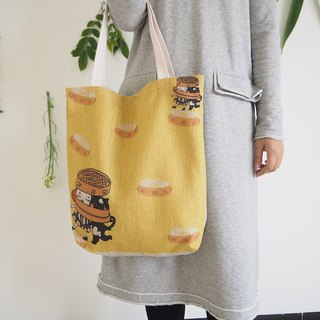 Summer Scallop Bag Tote Bag Yellow Series