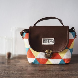 (small camera bag) Single small single eye camera thick cotton camera bag (coffee bottom leaves) B03