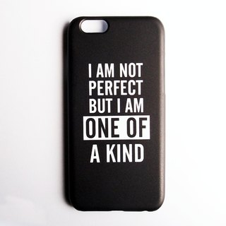 SO GEEK phone shell design brand THE MOTTO GEEK ONE OF A KIND models (black)