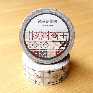 Old House Yan – Tiehua Flower Collection 1 Paper Tape