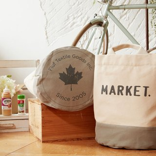 Canada fluf organic cotton HiLife-purpose bag / bags / bag / pouch - the market Market (large)