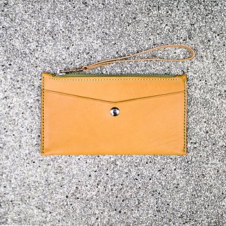 Her clutch bag 3.0 - Italian leather hand made