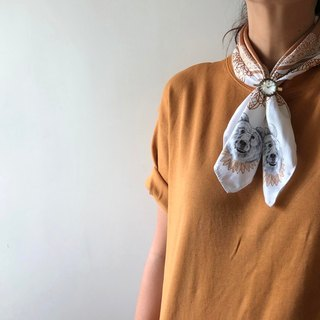 adc | party animal | animal | brown | bear | squirrel dog | imitation scarf (small)