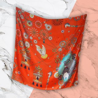 Orange Magician Scarf - Magician Collection