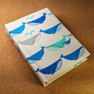 IVxVI Series [Discovering Whale Small Followers] 4X6 Miles Handmade Hardcover