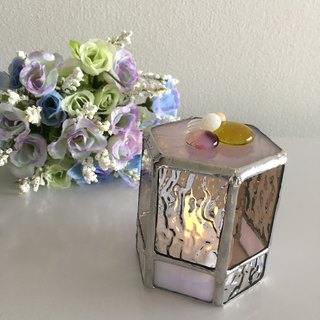 Sweet night LED candle holder Rose tea Bay View