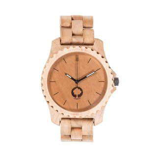 Plantwear – URBAN SERIES – MAPLE WOOD TIMBER WRIST WATCH