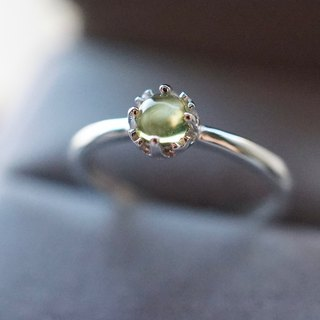 ITS-R108 [ring series, peridot, Peridot] 925 silver ring.