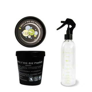 Dirty Dog - natural bug off powder (canned 100g) + donated spray bottle