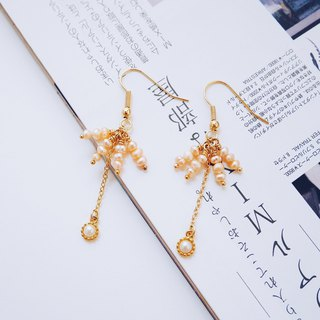 Nostalgia - Earrings - Citrus Freshwater pearl earrings
