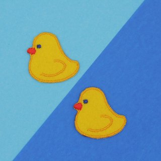 Mini Yellow Duck Iron Patch