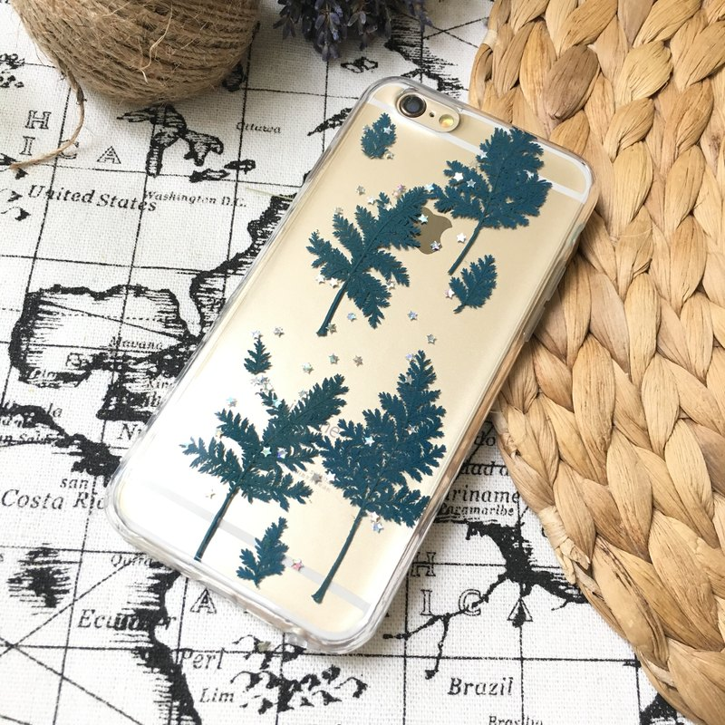 Tibetan blue embossed planet mobile phone shell