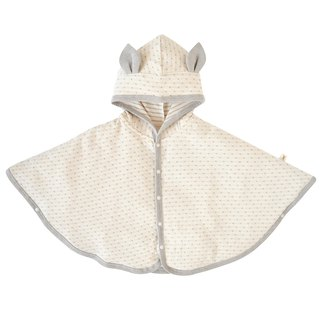 [SISSO Organic Cotton] Fawn Gray Rice Thin Cloak F