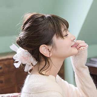 Blooming Sakiami Colourful Hair Scrunchy / Hair Accessory / Hair Tie