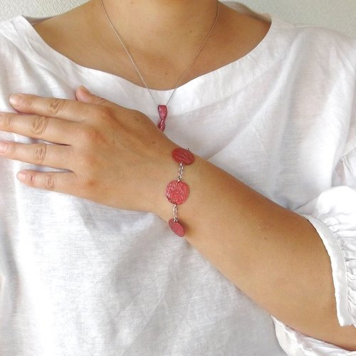 Light ~ AKARI ~ arabesque bracelet