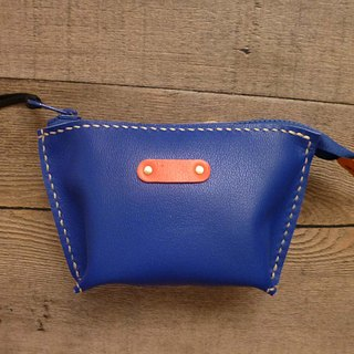 POPO│ fashion blue │ cow leather wallets │