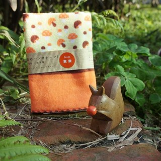 Small things} encountered small mushrooms forest walks - Japanese small towel animal group