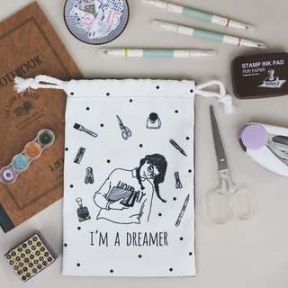 Drawstring bag - stationery dreamer