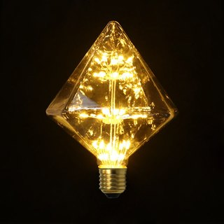 Good Form‧ Good Shape │LED‧ Fire Light Bulbs・Large Diamond Lightbulb