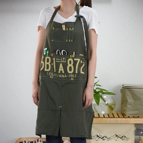 Garage-Work Apron (Green)