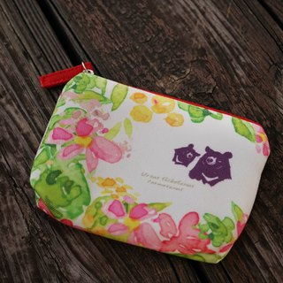 Cr8tive 4ever - bring home TAIWAN treasure - portable storage bag - black bear