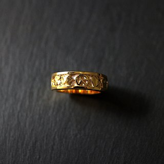 Anti-war Ring of Sterling Silver (Gold-plated Edition) Antiwar