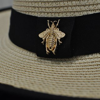 Flat 135 X Taiwan Designer British style gentleman hat top straw hat behind the summer beetle essential Valentine's Day wear party