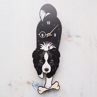 D-28 Border Collie - Pet's pendulum clock