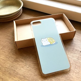 Jade burning cat phone case