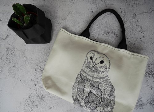 Spring owl bag Out