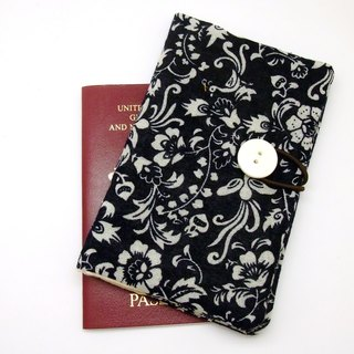 Passport sleeve, passport cover, fabric passport case, pouch (Ps7)