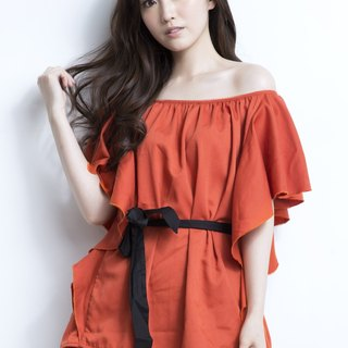 Butterfly Top Orange