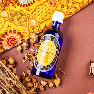 Gold-Lemon C Massage Oil 100ml