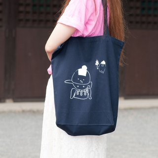 Rice ball tote bag Dokoko ver.