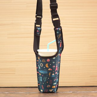 City Drink Long Bag - Dark Blue