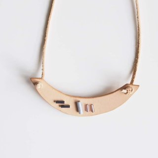 Bead Embroidery Collection |  Minimalist Handmade Statement Necklace no.10