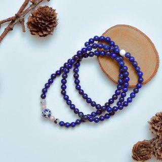 Suddenly (108 bracelets/ Rosary series) Lapis Lazuli - Peace