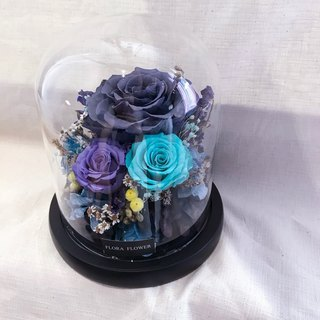 Vintage Blue Everlasting Flower Night Light / Hot Sale / FLORA FLWOER / Everlasting Flower Night Light / Mid-Autumn Festival