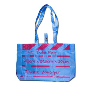 Director Clap Tote Bag - Blue (Polyester)