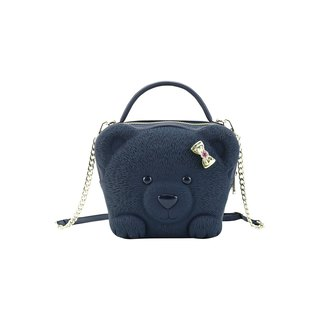 Adamo 3D Bag Original Ribbon Bear Sling Bag