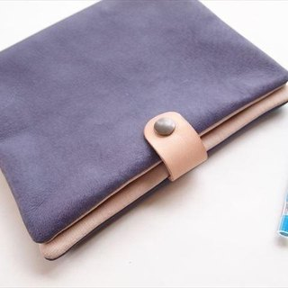 [SALE] A5 size binder notebook [classic colors] pig leather soft notebook cover [MTO] leather