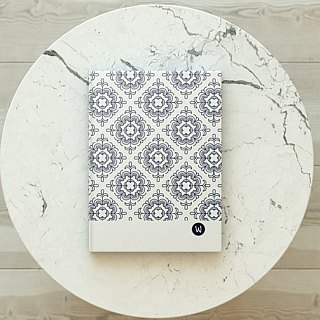 ☆ ° Rococo Strawberries WELKIN Handicrafts Handbook / Notebook / Handbook / Diary - Geometric Stars Series Window grilles