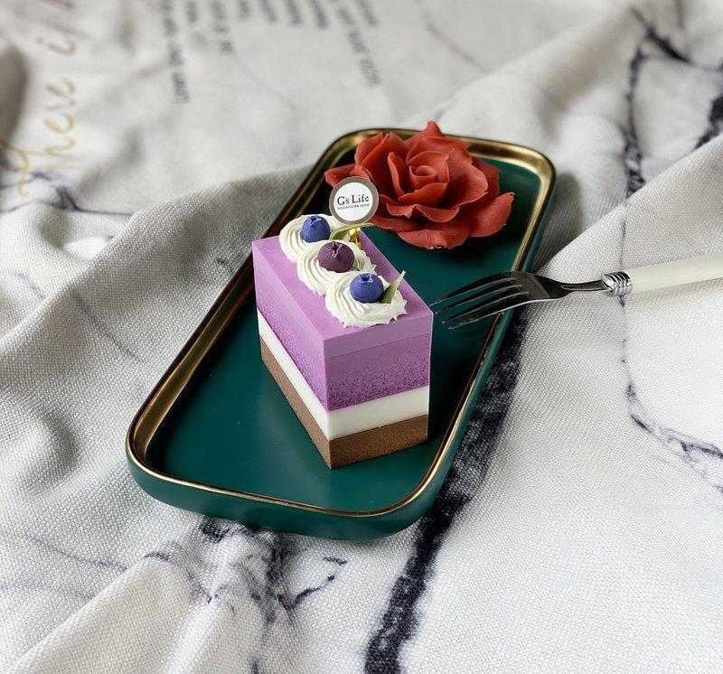 單入蛋糕香皂禮盒─藍莓可可