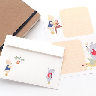 Letter writing set/nezukuma/Present