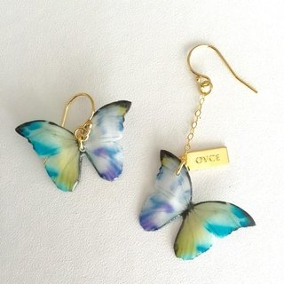 tefu M khaki earrings